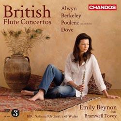 British Flute Concertos